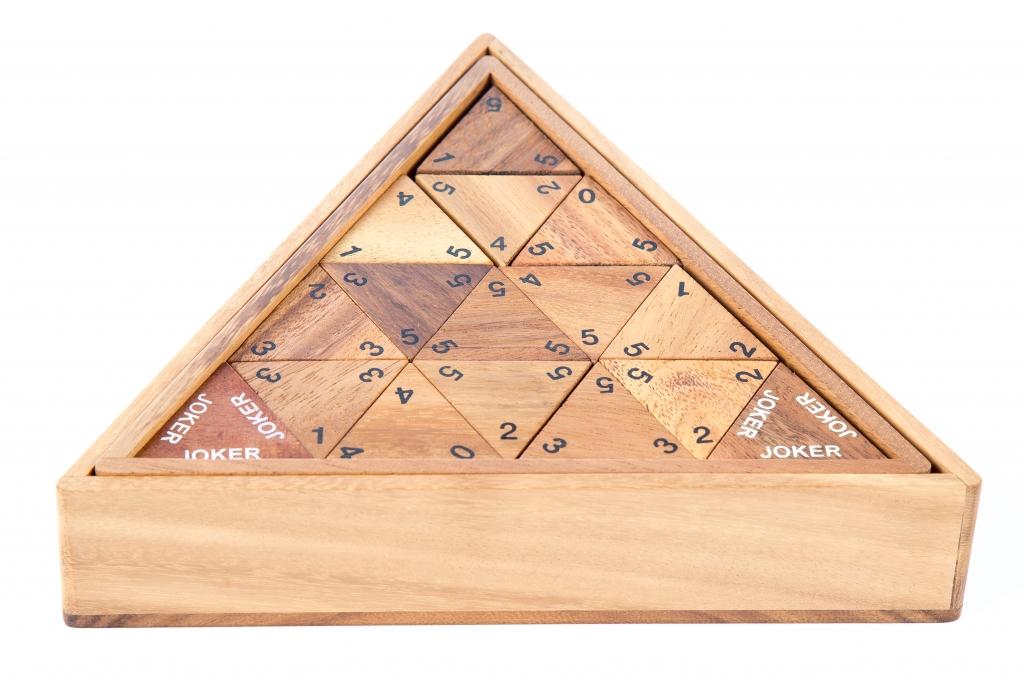 โดมิโน่กล่องสามเหลี่ยม - ตัวเลข