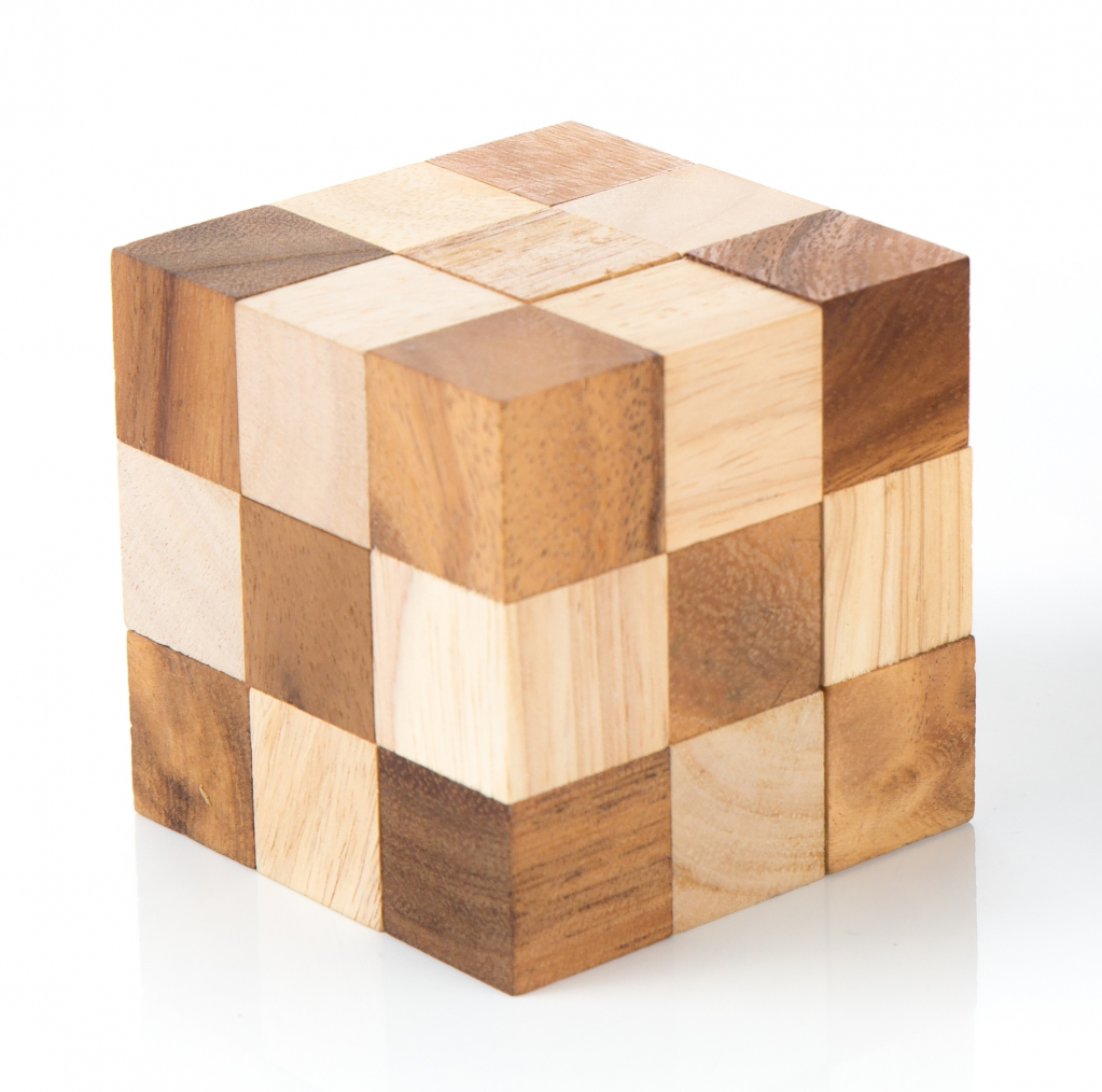 Snake Cube - M (two tones)